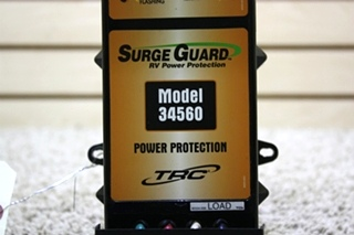 USED MOTORHOME SURGE GUARD RV POWER PROTECTION MODEL: 34560 FOR SALE