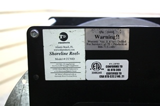 USED RV TDI SHORELINE REEL CC50D (NO ELECTRIC CORD) FOR SALE