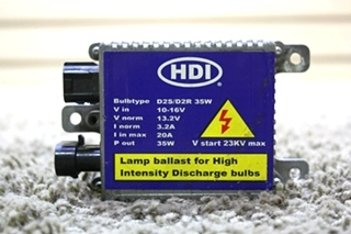 USED RV HDI LAMP BALLAST FOR HIGH INTENSITY DISCHARGE BULBS FOR SALE