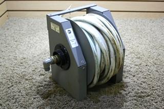 USED MOTORHOME SHORELINE REEL RVW5003 POTABLE WATER HOSE REEL FOR SALE