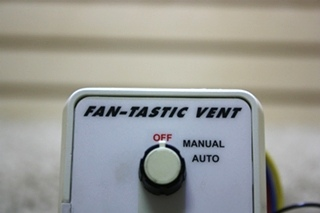 USED RV FAN-TASTIC VENT SWITCH PANEL FOR SALE
