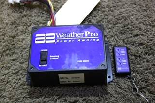 USED MOTORHOME AE WEATHERPRO POWER AWNING CONTROL 3307930.002 WITH REMOTE FOR SALE