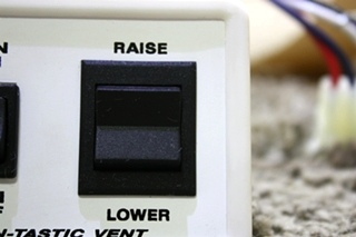 USED MOTORHOME FAN-TASTIC VENT SWITCH FOR SALE