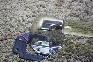 USED RV EXTERIOR ACRYLIC GRAB HANDLE WITH KEYLESS ENTRY FOR SALE