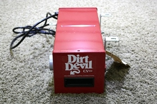 USED RV DIRT DEVIL HIGH PERFORMANCE CENTRAL CLEANING SYSTEM CV950 FOR SALE