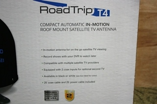 WINEGARD ROADTRIP T4 RT2035T IN-MOTION SALLITE RV TV ANTENNA FOR SALE