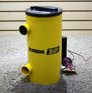 USED RV EUREKA YELLOW JACKET CV140 VACUUM SYSTEM FOR SALE