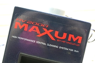 USED RV MAXUM BY VACUFLO RV2000 VACUUM SYSTEM FOR SALE