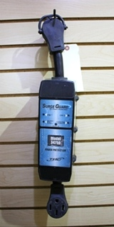USED MOTORHOME SURGE GUARD POWER PROTECTION MODEL: 34750 FOR SALE