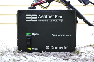 USED 3307916.001 AE WEATHERPRO POWER AWNING CONTROL MOTORHOME PARTS FOR SALE