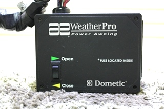 USED RV AE DOMETIC WEATHERPRO POWER AWNING CONTROL BOX 3307916.001 FOR SALE