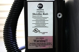 USED TDI SHORELINE REEL RV5036 MOTORHOME PARTS FOR SALE