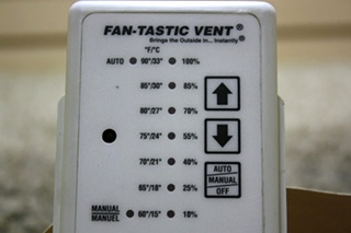 USED MOTORHOME FAN-TASTIC VENT REMOTE CONTROL FOR SALE