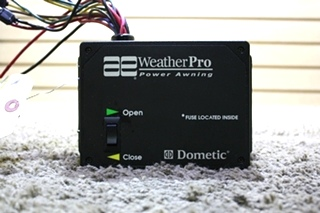 USED AE WEATHER PRO POWER AWNING CONTROL BOX 3307916.001 RV PARTS FOR SALE