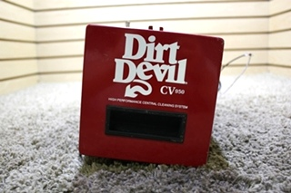 USED MOTORHOME CV950 DIRT DEVIL HIGH PERFORMANCE CENTRAL CLEANING SYSTEM FOR SALE