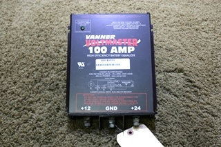 USED RV VANNER VOLTMASTER 100 AMP HIGH EFFICIENCY BATTERY EQUALIZER FOR SALE