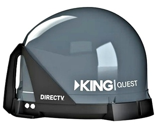 RV KING QUEST VQ4100 SATELLITE ANTENNA FOR SALE