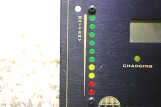 USED MOTORHOME SES APPLIED POWER SOLAR CONTROLLER/MONITOR PANEL FOR SALE