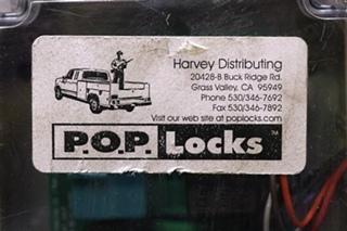 USED RV HARVERY DISTRIBUTING P.O.P. LOCKS MODULE FOR SALE
