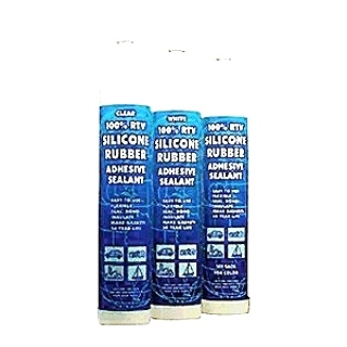 RV Sealant Silicone RTV, Silicone Cartridge, Clear, 10.3oz Cartridge