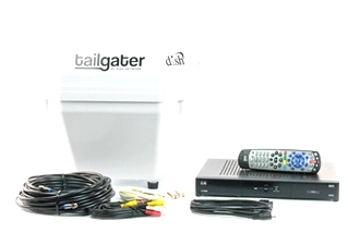 NEW DISH TAILGATER PORTABLE SATELLITE ANTENNA