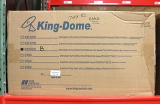 NEW KING-DOME MODEL: KD5500-B STATIONARY RV  AUTO SATELLITE ANTENNA