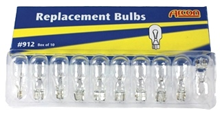 NEW RV/MOTORHOME REPLACEMENT BULB #912 (10 Pack)